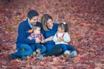 Fall Family portraits Acton family photo session